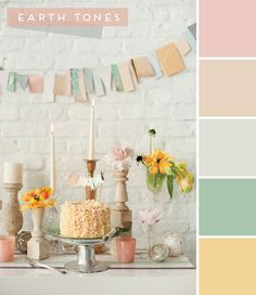 nursery color inspiration: earth thones | Chic & Cheap Nursery™