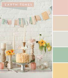 nursery color inspiration: earth thones   Chic & Cheap Nursery™