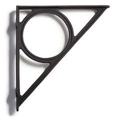 Encircle Cast Iron Shelf Bracket