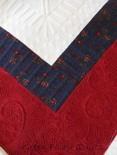awesome quilting and such a creative border treatment--tons of fabulous quilting ideas on this quilt