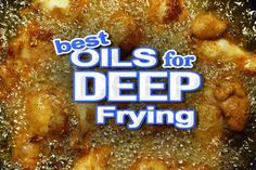 Looking for the Best Oil for Deep Frying your tasty recipes? We'll give our answer and why you should use some and not others. Especially for LCHF Dieters Best Cooking Oil, Healthy Cooking, Healthy Eating, Cooking 101, Cooking School, Healthy Food, Ketogenic Recipes, Keto Recipes, Ketogenic Diet