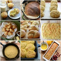 Tried and True Thanksgiving Bread Recipes from me to you! (All recipes from my blog, so I know they are great!)