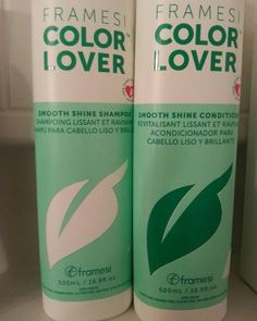 "<a href=""http://amzn.to/1qJVI0S"" target=""_blank"">Framesi Color Lover Shampoo and Conditioner</a>"