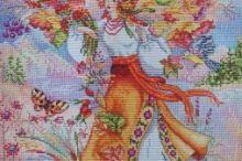 Gallery.ru / Все альбомы пользователя helen61 Painting, Punto De Cruz, Dots, Painting Art, Paintings, Painted Canvas, Drawings