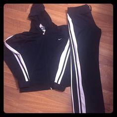 Women's Nike sweatsuit Nylon Nike women hooded sweatsuit Nike Other