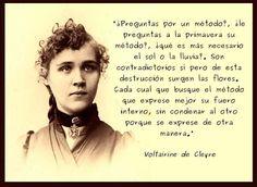 Homeschooling Spain: Cita de Voltairine de Cleyre