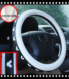 High Quality Auto Car Disney Mickey Mouse Auto Car Steering Wheel Cover WD-174