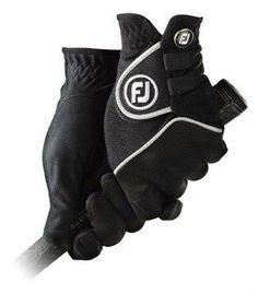 FootJoy Mens Rain-Grip Golf Gloves Medium by FootJoy. $18.95. NEW FootJoy Rain Grip Golf Gloves Brand: FootJoy Model: Rain Grip Dexterity: Left and Right Hand Size: Men's Regular Medium Color: Black Quantity: 1 Pair Condition: NEW! SKU: FOJO0011 FootJoy Rain Grip Gloves Feature: Unbeatable Wet Weather Grip: Proven Suede-mark microfiber provides an unmatched grip in wet or humid conditions, conforming to both your had and club for superior grip and control. Cool, Breath...