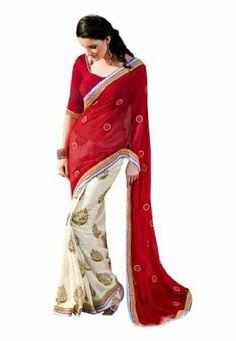#Fabdealdotcom #Indian #Designer #Georgette #Red #Embroidered #Saree Fabdeal, http://www.amazon.co.uk/dp/B00INWL92K/ref=cm_sw_r_pi_dp_.67rtb06TSZSA