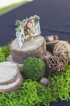 Centerpieces - Jaxxy's First Birthday - Where the Wild Things are