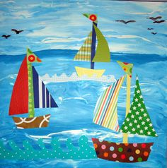 sail boat collage - Google Search