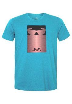 Camiseta Oakley Mod Optic Revolution Azul - Compre Agora | Dafiti Brasil