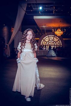 Платье для девочки в стиле ампир