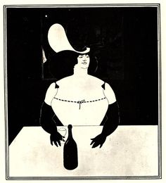 The Fat Woman - Aubrey Beardsley