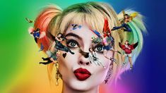 """The new Harley Quinn movie coming with Margot Robbie again taking on the role of Ms. The story deals with the aftermath of Harley Quinn breaking up with clown Prince of crime, """"Birds of Prey Or The Fantabulous Emancipation Of One Harley Quinn"""" Cassandra Cain, Mary Elizabeth Winstead, Harley 883, Harley Y Joker, Joker Batman, Batman Arkham, Batman Art, Chris Messina, Birds Of Prey"""