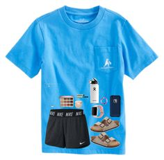 A fashion look from February 2018 featuring NIKE activewear shorts, Birkenstock ., Summer Outfits, A fashion look from February 2018 featuring NIKE activewear shorts, Birkenstock sandals and Lokai bracelets. Browse and shop related looks. Camping Outfits, Summer Camp Outfits, Outfit Summer, Summer Shorts, Winter Outfits, Teen Girl Outfits, Lazy Outfits, Trendy Outfits, School Outfits