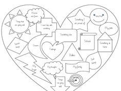 What do I want to talk about? An exercise to enable children to think about what they wish to discuss with an adult or the person who is helping them. Grief Activities, Anger Management Activities, Social Emotional Activities, Speech Therapy Activities, Counseling Techniques, Christmas Worksheets, Play Therapy Techniques, Therapy Worksheets, Social Thinking
