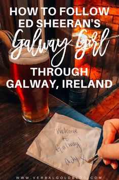 Galway Girl // Getting around Ireland like a Galway Girl in Ed Sheeran's music video!