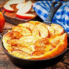Low Carb Apfel-Zimt-Pfannkuchen