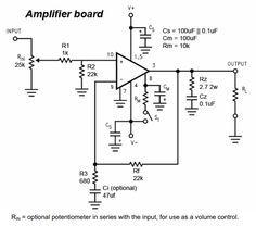 LM3886 Chip Amplifier (Gainclone) Schematic