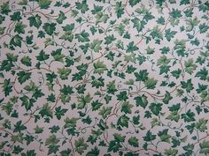 Click link to PURCHASE fabric by the yard: https://1502fabrics.com/product/waverly-cottage-ivy-crystal/?_sft_fabric_application=drapery-fabric&sf_paged=4 Ivy Green Waverly