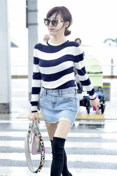 SNSD Tiffany is off to Rome for FENDI's 90th Anniversary Event ~ Wonderful Generation