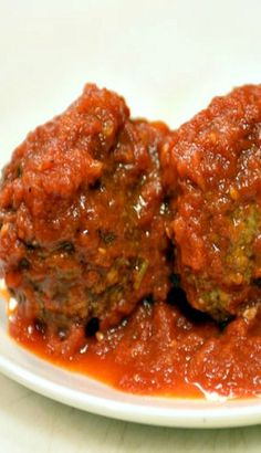 Rao's Meatballs With Marinara Sauce Recipe Sauce Recipes, Meat Recipes, Pasta Recipes, Cooking Recipes, Barbecue Recipes, Cooking Tips, Beef Dishes, Pasta Dishes, Italian Dishes