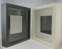 Box Frames - Forest Art and Frame Deep Shadow Box, White Shadow Box, Wooden Shadow Box, White Box Frame, Shadow Box Picture Frames, Shadow Box Frames, Wholesale Picture Frames, Baby Cast, Cheap Frames