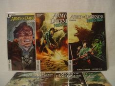 This is a 6 issue lot of Army of Darkness Furious Road from Dynamite Entertainment. It consists of issues #1-6. The comics are in in mint/nearmint con... #comic #dynamite #issue #road #darkness #furious #army