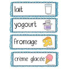 Alimentation: Mots-étiquettes