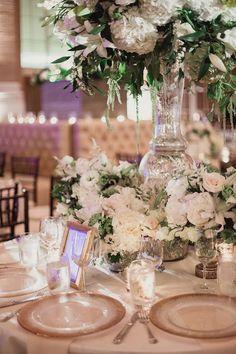 Featured Photographer: Shaun Menary Photography; Wedding reception centerpiece idea.