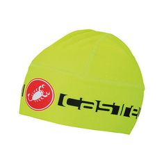 Hats Caps and Headbands 158994: Castelli Viva Thermo Skully Men S Cycling Hat Yellow One Size -> BUY IT NOW ONLY: $34.99 on eBay!