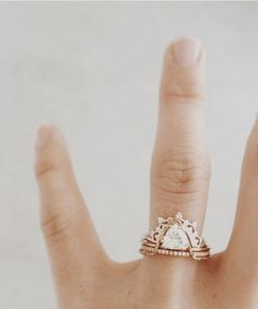 The most gorgeous engagement rings we found on Pinterest.