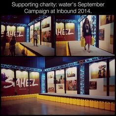 Kaitlyn & Amanda both accepted charity: water's #Inbound2014 challenge!
