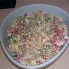 #recipe #food #cooking Seafood Pea-Asta Salad food-and-drink