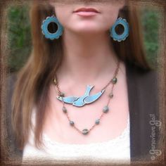 be free bird necklace