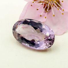 Ametryn owal fasetowany do oprawy jubilerskiej 20x13mm / KABOSZONY Z KAMIENIA / KABOSZONY - Royal-Stone.pl Mineral Stone, Minerals, Stones, Rocks, Rock