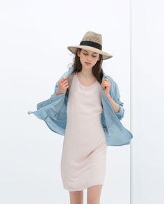 STRAP DRESS from Zara