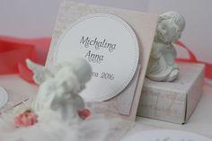 papieroffka: exploding box, chrzest, aniołek, anioł pudełko