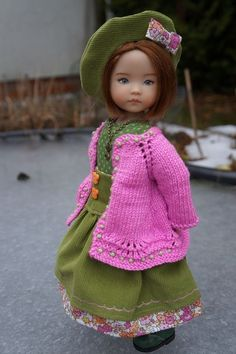 """Little Darling Dianna Effner outfits only 13"""" Oh My Dolls Creations Meadows 