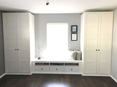 Ikea Pax wardrobe and Hennessy entertainment hack for built-in wardrobes and ben. Ikea Pax wardrobe and Hennessy entertainment hack for . Ikea Pax Wardrobe, Ikea Closet, Bedroom Wardrobe, Wardrobe Wall, Closet Wall, Ikea Wardrobe Storage, Closet Bench, Closet Dresser, Entryway Closet