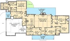 Hill Country House Plan 64003BB is having a good week. Sold to clients in West Virginia and Texas! This home has 4 beds and 3.5 baths. Where do YOU want to build?