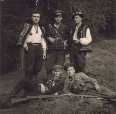 UPA. Lviv region. 1949, I have seen photos like this one of my parents friends and family. Such proud people.
