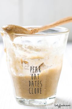 Pear + Oats + Dates + Cloves Puree — Baby FoodE | organic baby food recipes to inspire adventurous eating