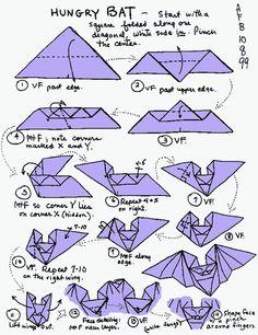 explication origami souris