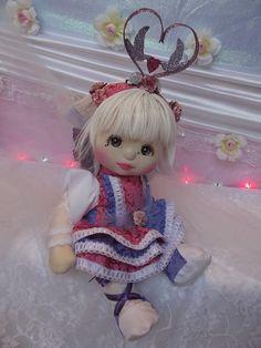 OOAK Mattel My Child Doll ~ Lovebird Fairy by jesska80, via Flickr