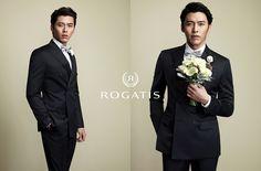 A Debonair Hyun Bin For Rogatis FW 2013 Campaign :