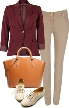 Eleanor inspired job interview outfit  ONLY blazer, $49 / Wallis slim leg pants / High heel / Zara shopping tote bag