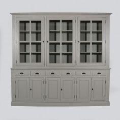 Meuble vaisselier en bois massif | meuble bois massif | Pinterest ...