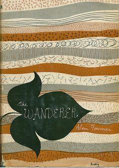 The Wanderer, by Alain-Fournier. Art by Alvin Lustig.
